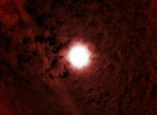 Moon Thru Clouds
