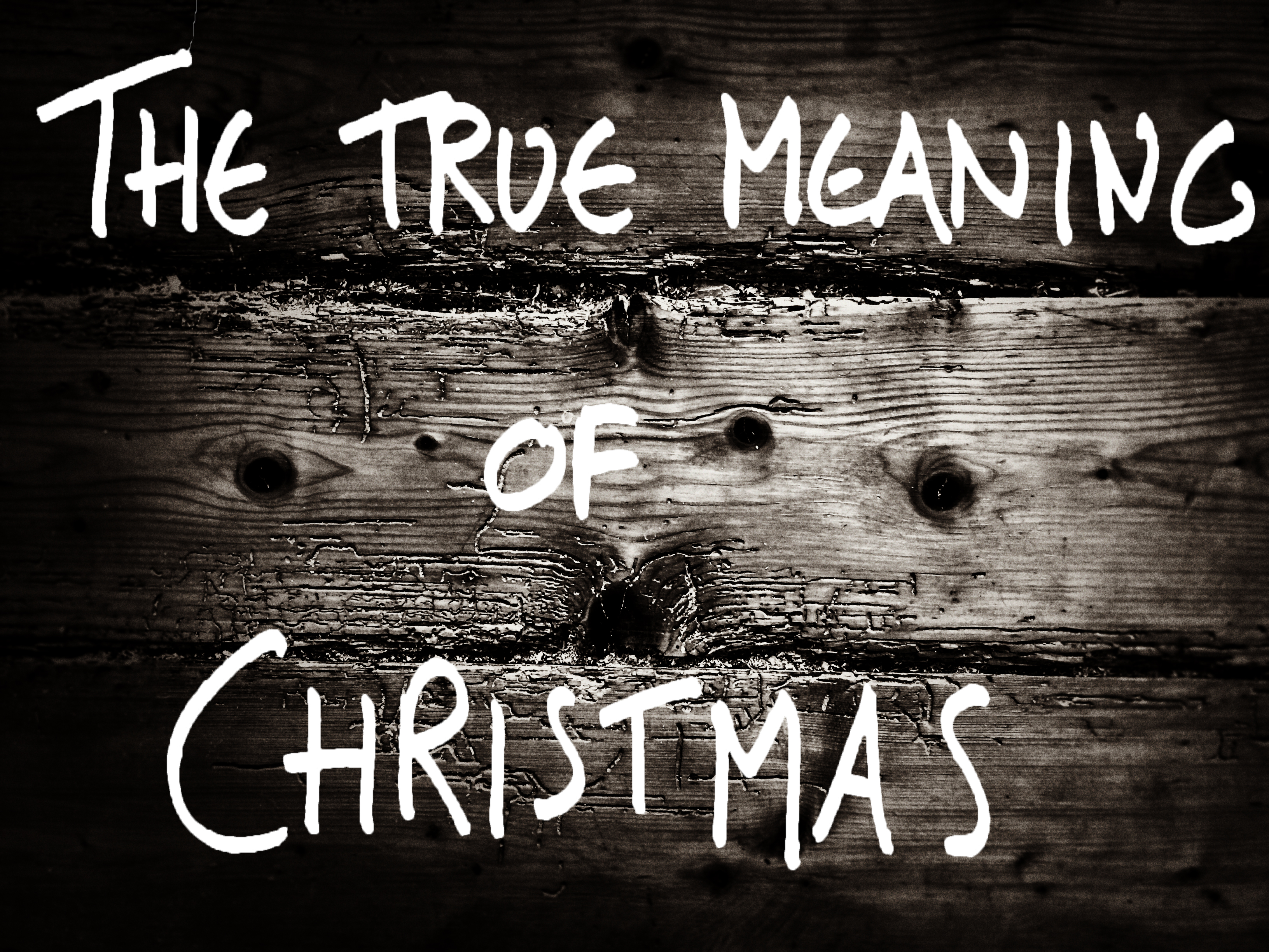 The True Meaning and Value of Christmas (For Me). ALSO ...